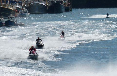 Jet skiers warned after racing off East Mersea coast
