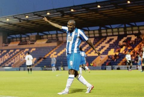 Crucial winner - Clinton Morrison bagged Colchester United's winner in their 2-1 victory at Bury.