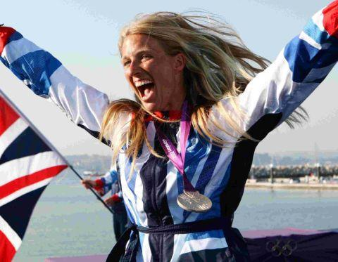 Fine achievement - Saskia Clark's success at the Olympics has boosted sailing on Mersea Island.