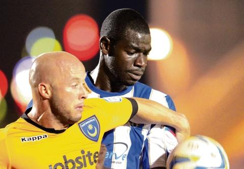 Superb - Magnus Okuonghae was superb in helping Colchester United secure a 0-0 draw at Hartlepool United.