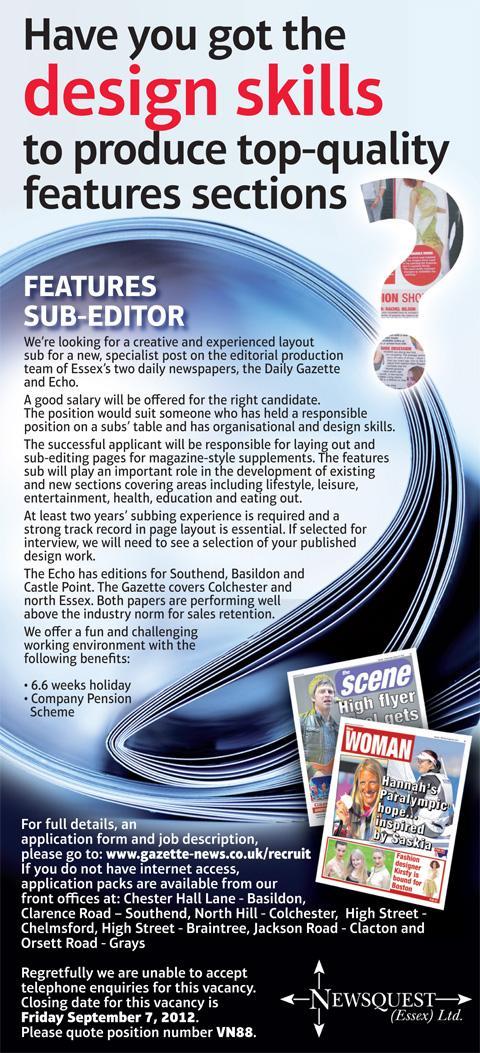 sub editor job description