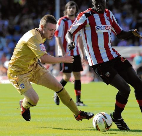 Potential - Freddie Sears has impressed so far this season but is yet to find the net. Picture: WARREN PAGE