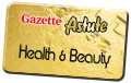 Gazette: health & beauty button