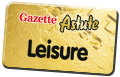 Gazette: leisure button