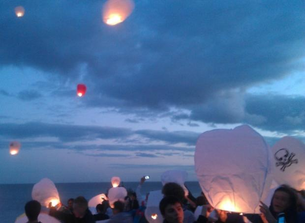 Lanterns lit for murder victim Jay Whiston