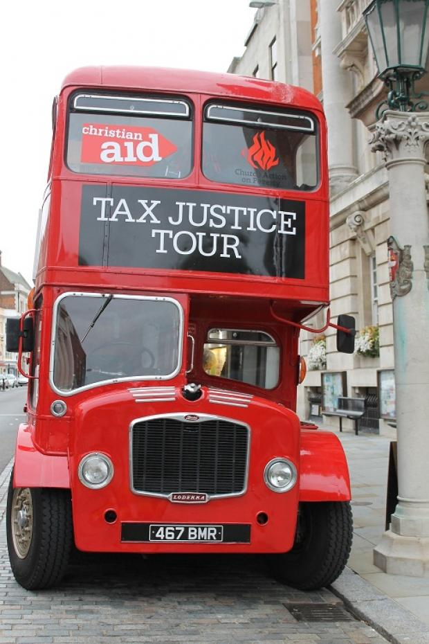 Tax advice bus comes to Colchester