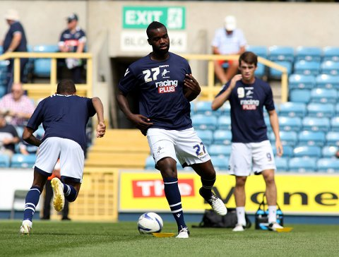 Loan switch - Karleigh Osborne, pictured here warming up for former club Millwall, has joined Colchester United until the end of the season.