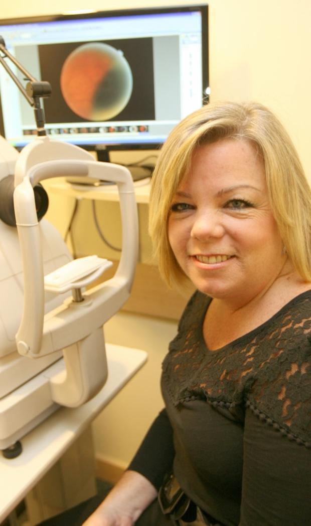 Joanne's eye check unearths cancerous tumour