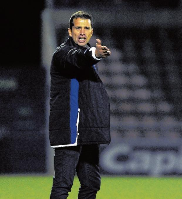 Gazette: Low ebb - Colchester manager Joe Dunne was disappointed after seeing his side go out of the FA Cup at Chelmsford City.