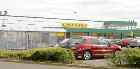 Morrisons in Braintree Road, Witham