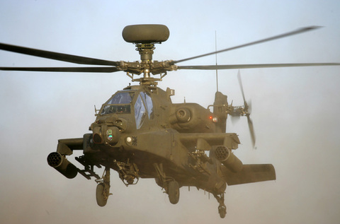 Apache helicopters to continue low-flying training in Colchester until Thursday