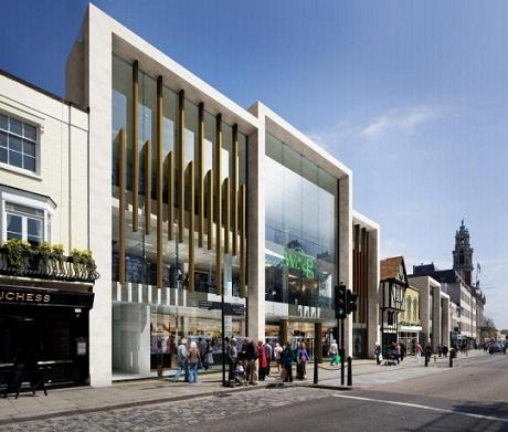 Williams & Griffin refurb plans submitted