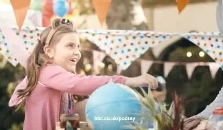Young actress stars in charity commercial