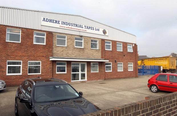 Adhere in the Whitehall Industrial Estate, Colchester