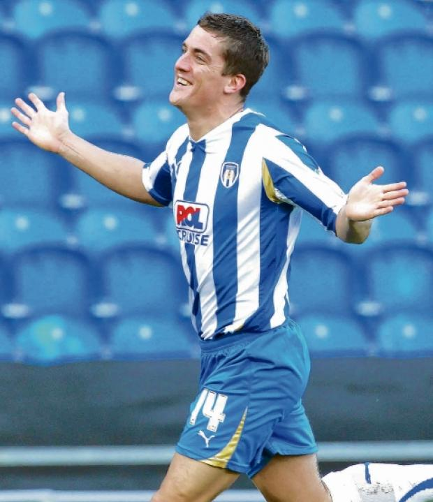 Welcome return - Andy Bond is glad to be back at Colchester United, following his loan spell at Crewe Alexandra.