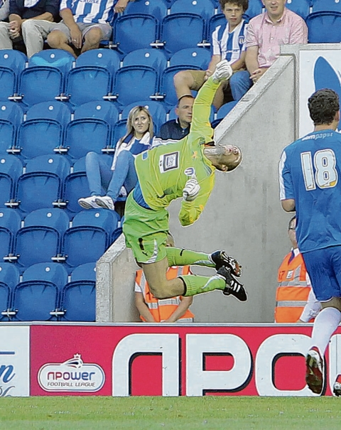 Response - Colchester United goalkeeper Mark Cousins believes they cannot afford to dwell on their FA Cup defeat at Chelmsford.