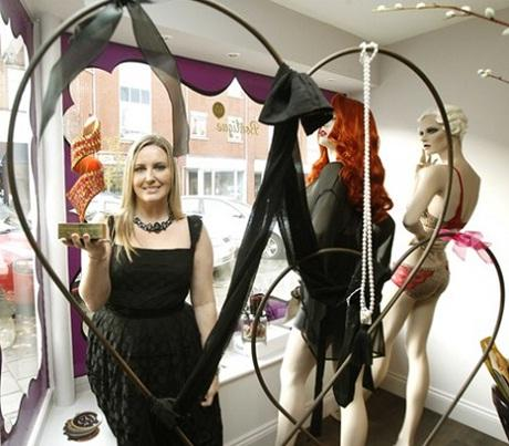 Lingerie boutique scoops retail gong