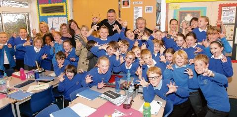 Parents go back into the classroom at Broomgrove Junior School, Wivenhoe