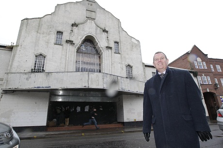 Bid: Ewan Dodds, of Whybrow, confirms a bid has been received for the former Odeon