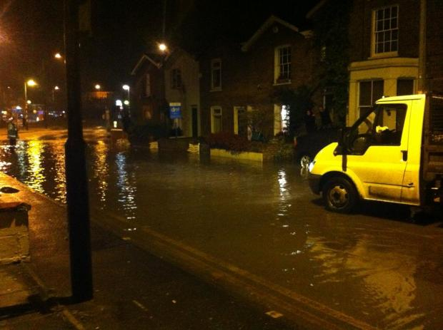 UPDATED: Burst water main floods Colchester homes