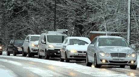 Updated: Snow problems melt away - for now | Gazette