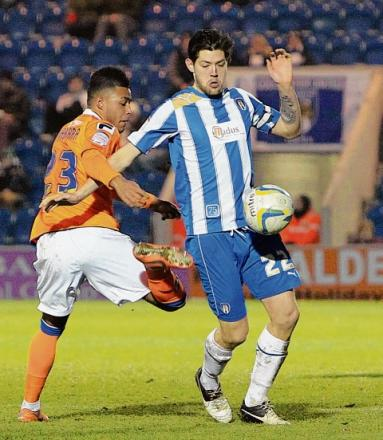 Gone - Anthony Wordsworth has left Colchester United to join East Anglian rivals Ipswich Town for an undisclosed fee.