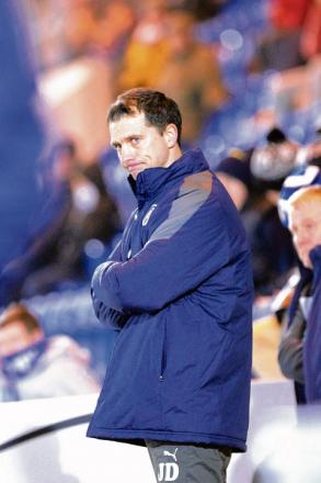 Bright future - Colchester United manager Joe Dunne is hoping the U's have a better time of it in 2013.