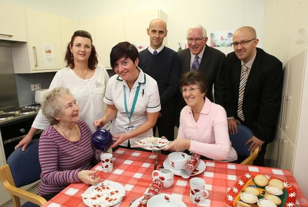 Colchester General Hospital kitchen refurb opened in memory of former patient