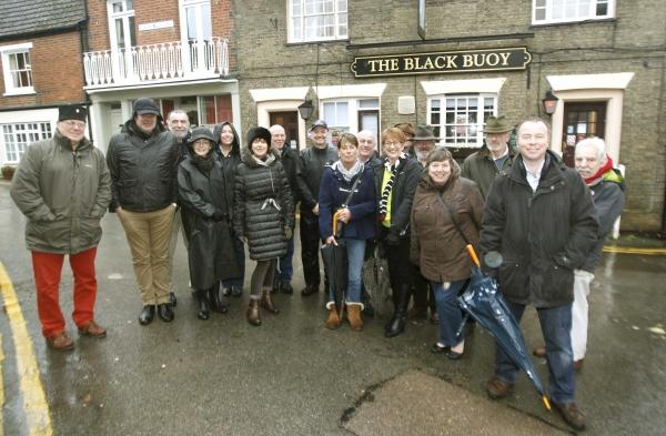Regulars reopen favourite pub - by buying it
