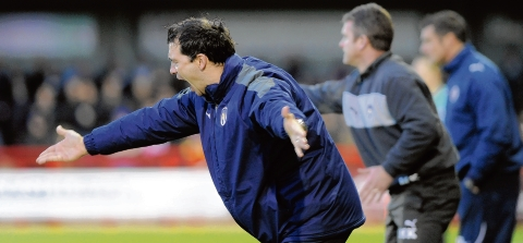 Window shopping - Colchester United boss Joe Dunne is hoping to make a new signing today.