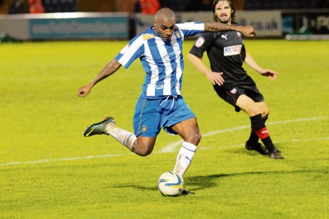 Great professional - Clinton Morrison's effort levels have been praised by Colchester United boss Clinton Morrison