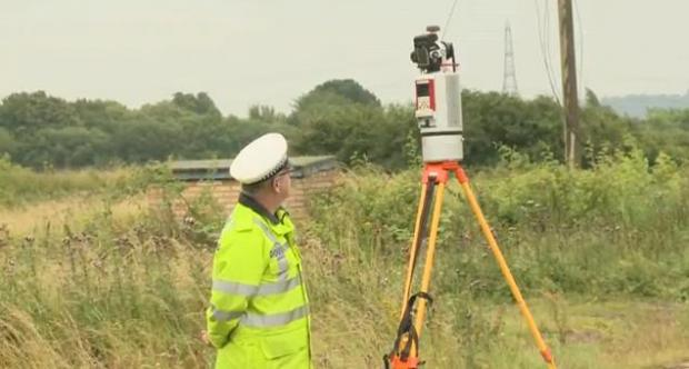 Essex: Video: 3D laser scanner to aid police investigations of road crashes