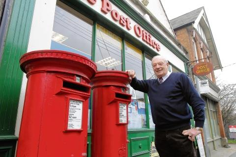 Post master Alan Buck has retired from the Wivenhoe post office.