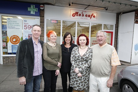 Cafe relaunched in Maureen's vision