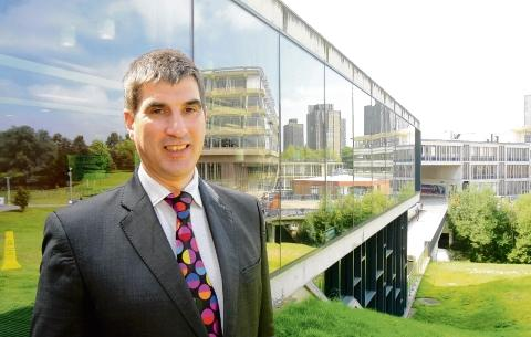Professor Anthony Forster, vice-chancellor of Essex University