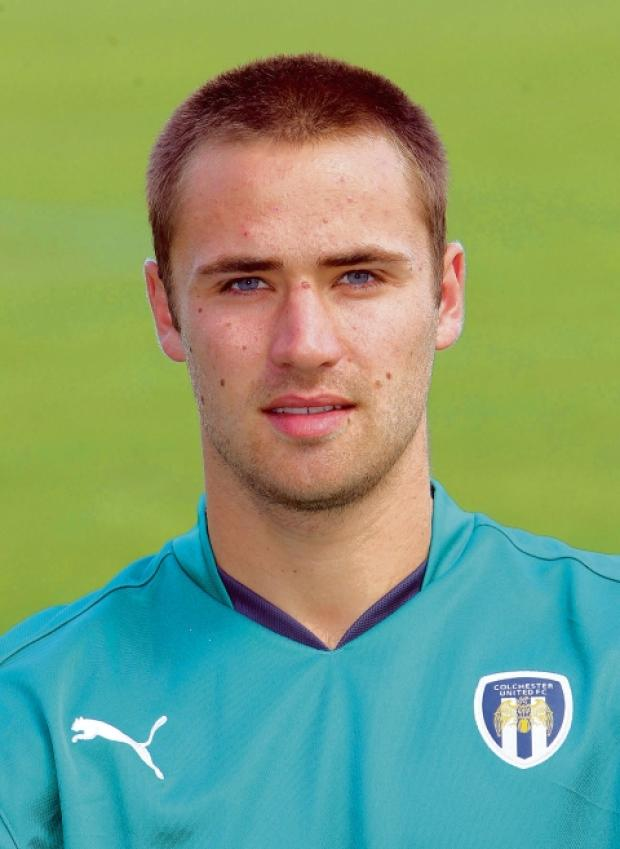 Departure - Carl Pentney has left Colchester United my mutual consent. Picture: STEVE ARGENT (CO68340-43)