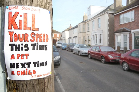 'Kill your speed' campaign gets backing