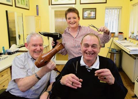 Barbers call it a day after more than 40 years together