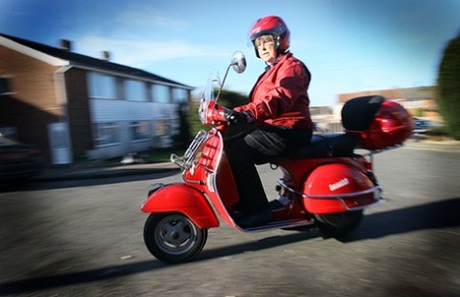 Scooter obsessed granny declares herself country's oldest mod