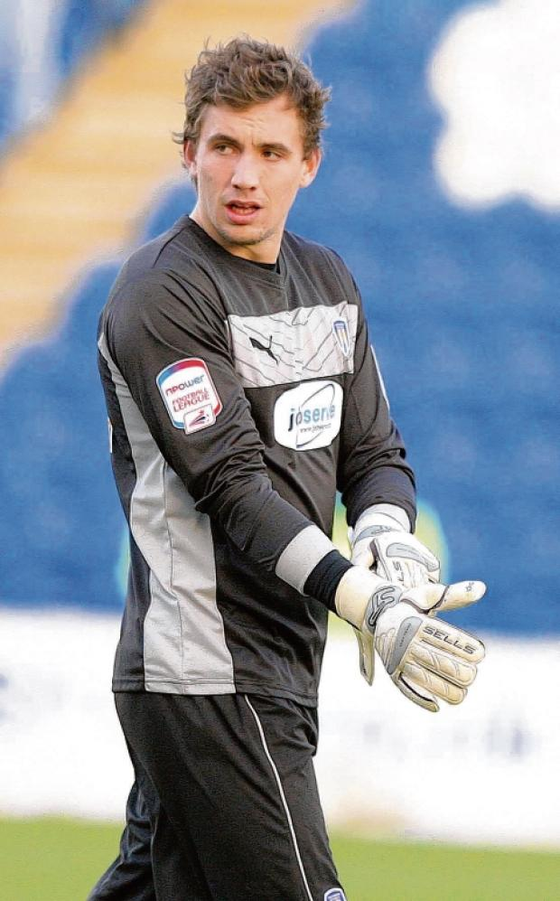 Safe hands - Sam Walker has kept two successive clean sheets for Colchester United.