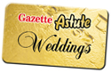 Gazette: Astute weddings button