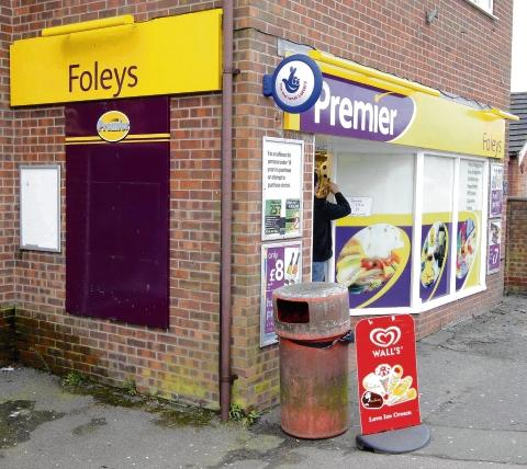 Newsagents targeted second time in a week