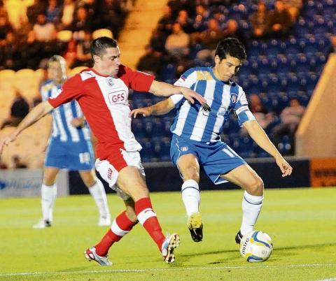 United - Colchester United skipper Kem Izzet believes there is an increased harmony within the U's squad. Picture: STEVE ARGENT (CO69249-05)