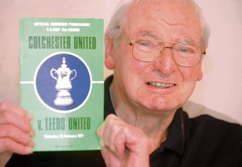 Legacy lives on - former Colchester United manager Dick Graham, who died last week at the age of 90.