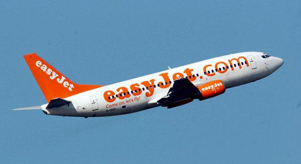 easyJet's ten-second check-in at Southend and Stansted airports