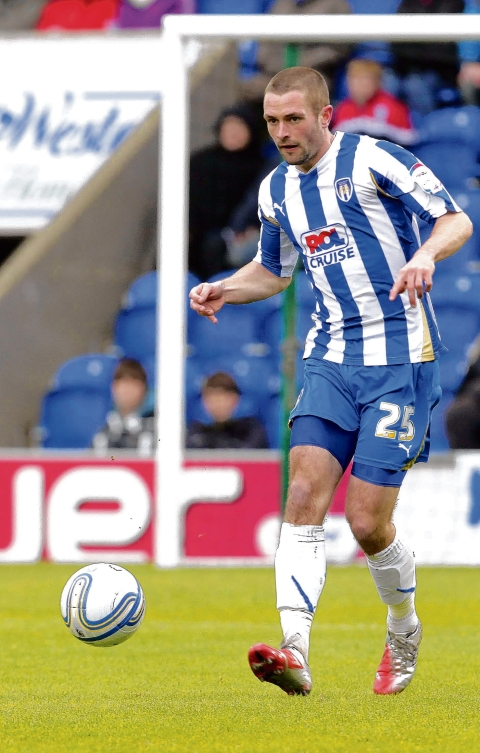 Loyal servant - John White is currently Colchester United's second longest-serving player, having made his debut under Phil Parkinson in 2004.