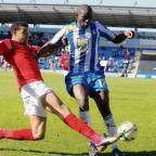 Accolade - Jabo Ibehre ws crowned Colchester United's player of the year at their end of season awards evening last night.