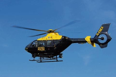 Police helicopter finds three boys after attempted break-in