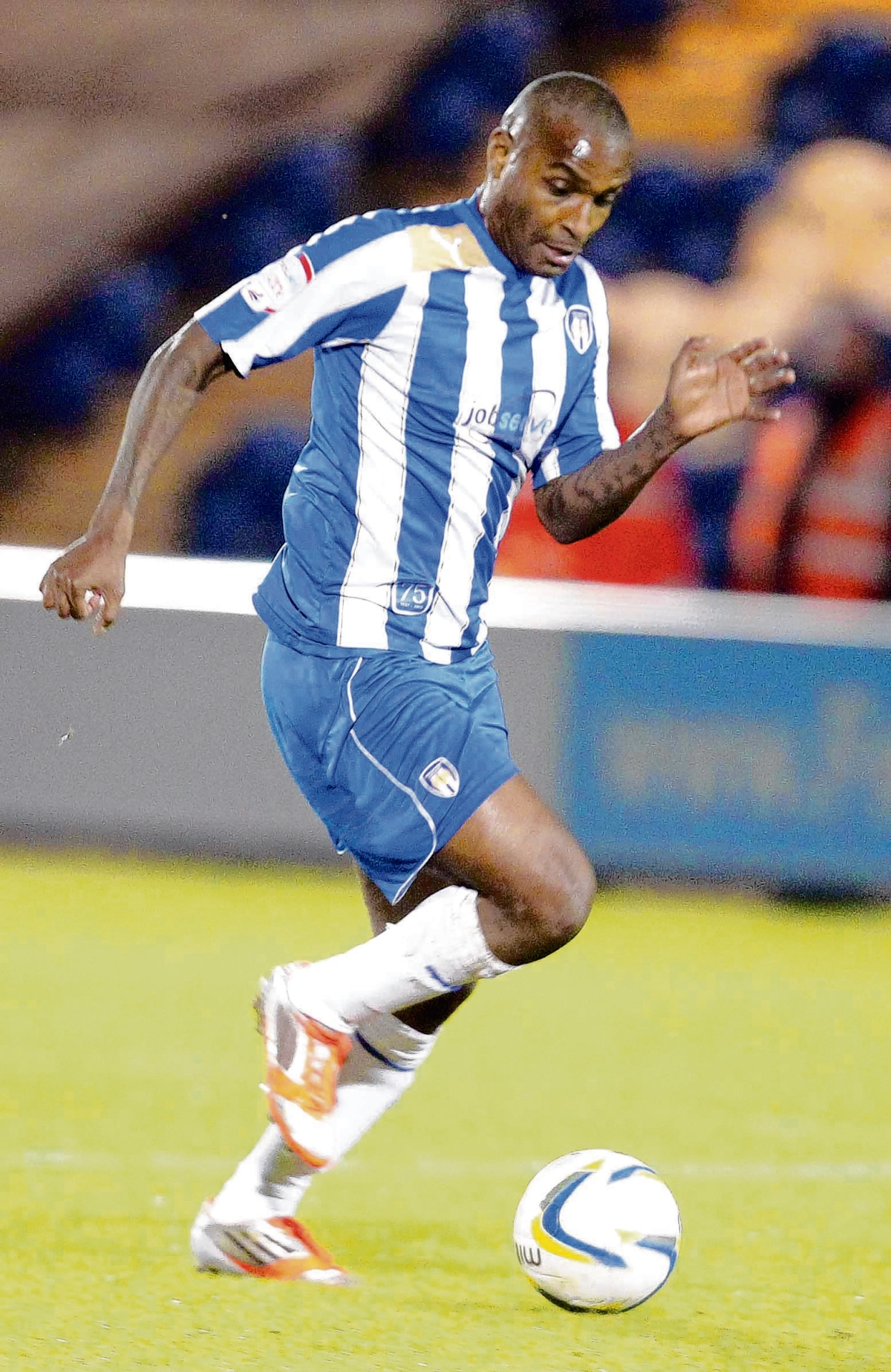 Fighting fit - Colchester United striker Clinton Morrison is feeling sharp ahead of the new League One season.