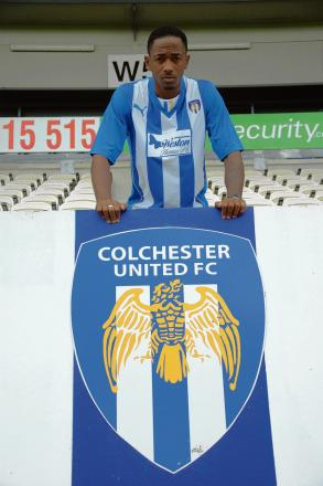 Ready to shine - Sanchez Watt wants to impress for Colchester United after agreeing a two-year deal with the U's. Picture: WWW.CU-FC.COM